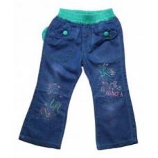 Джинсы для девочек (облегченная джинса)  артикул 68235