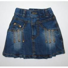 Юбка детская джинсовая артикул 7042