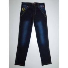 Стильные джинсы подростковые (стрейч) артикул 1893