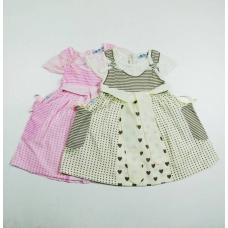 Платье детское хлопковое артикул 283