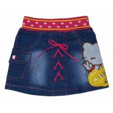 Юбка детская джинсовая артикул 3555