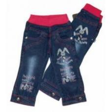 Джинсы для девочки (облеченная джинса)  артикул 0868