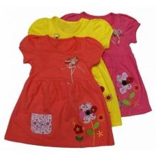 Платье для девочек трикотаж  артикул 2488