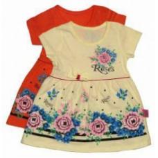 Платье для девочек трикотаж  артикул 2221