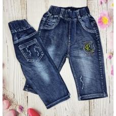 Бриджи джинсовые для мальчиков артикул 0451