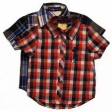 Рубашка для мальчиков хб  артикул 2013