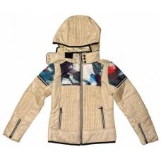 Легкая демисезонная куртка-ветровка для девочек артикул 152