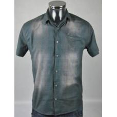 "Рубашка подростковая летняя (""Fly Boys"", Турция) 100 хлопок артикул 616"