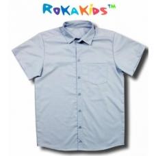 Сорочка для мальчика с короткими рукавами RoKaKids артикул 2224г