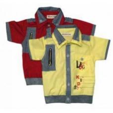 Рубашка для мальчика х/б  артикул 612