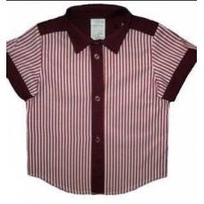 Рубашка детская с коротким рукавом артикул 9708